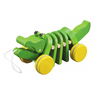 Alligator à tirer - Plan Toys