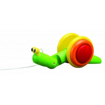 Escargot à tirer - Plan Toys