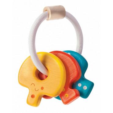 Hochet Trousseau de clés - Plan Toys