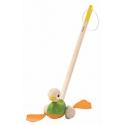 Canard à pousser pull along duck