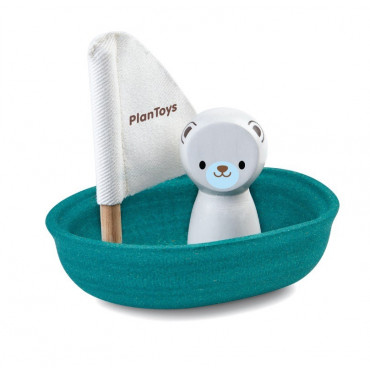 Voilier Ours polaire - Plan Toys