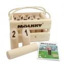 Molkky coffret en bois