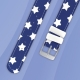 Bracelet montre Twistiti bleu étoilé