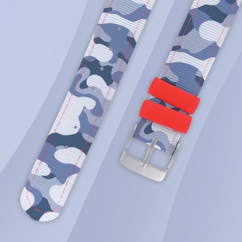 la clientèle d'abord baskets nouveaux prix plus bas Montre bracelet Twistiti lézard bleu