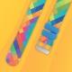 Bracelet montre Twistiti arlequin multicolor