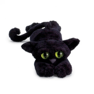 Peluche chat Lanky cats Ziggy noir