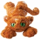 Peluche chat Lanky cats Ginger
