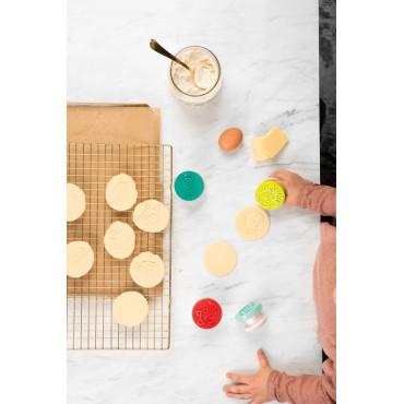 4 tampons décoratifs pour sablés - Little chef Lilliputiens