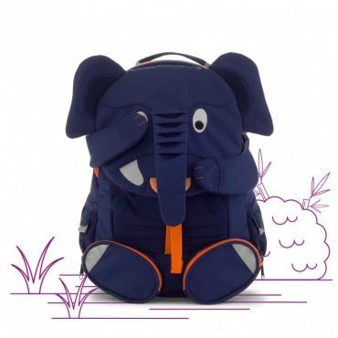 Sac à dos midi éléphant bleu foncé - Affenzahn