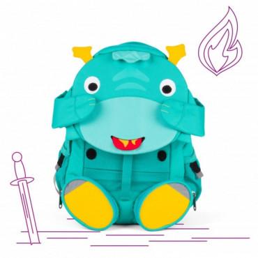 Grand sac à dos enfant dragon vert