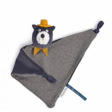 doudou chat gris Alphonse Les Moustaches