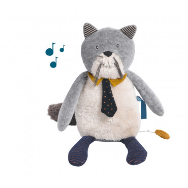 Chat musical Fernand Les Moustaches