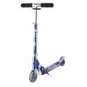Trottinette micro sprite special edition blue striped