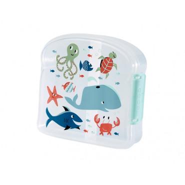 Petite boîte à tartines, océan - SugarBooger