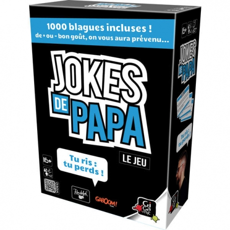 JOKES DE PAPA : tu ris, tu perds