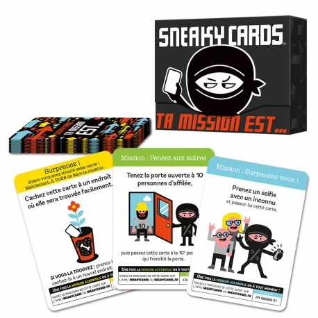 SNEAKY CARDS, ta mission est...