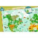 Puzzle découverte Tour du Monde 200 pcs - Djeco