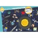 Puzzle observation l'espace 200 PCS - Djeco