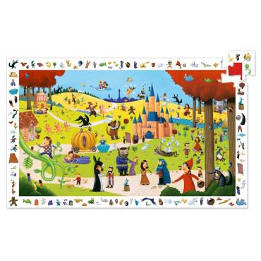 Puzzle observation Les contes 54 pcs - Djeco