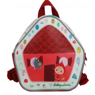 Chaperon Rouge Mini sac à dos - Lilliputiens