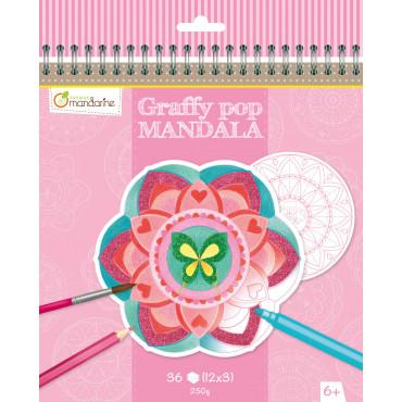 Graffy Pop Mandala fille - Avenue Mandarine