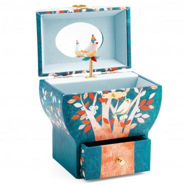 Boîte à bijoux musicale Arbre poétique - Djeco