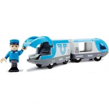 Train de voyageurs à pile