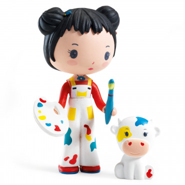 Barbouille et Gribs - Figurines Tinyly - Djeco
