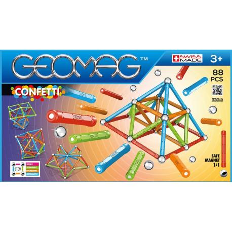 Geomag Confetti 88 pièces