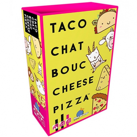 Taco Chat Bouc Cheeze Pizza - Blue Orange