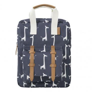Sac à dos bleu Girafe - Fresk