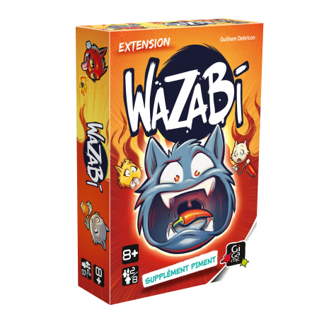 WAZABI Extension Supplément Piment - Gigamic