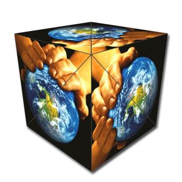 Geobender cube World La terre