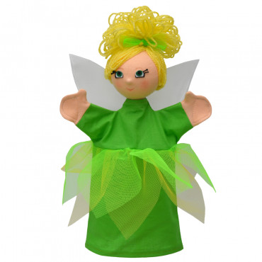 MARIONNETTE FEE VERTE FAIRY MEADOW GREEN