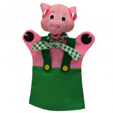 Marionnette cochon vert - Moravska Ustredna