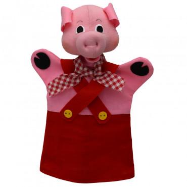 Marionnette cochon rouge - Moravska Ustredna