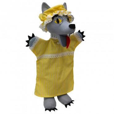 Marionnette loup déguisé en Mère Grand - Moravska Ustredna
