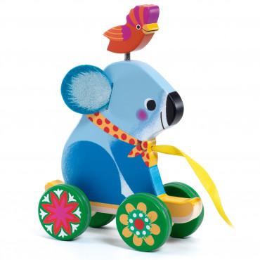 Otto, Koala à tirer en bois - Djeco