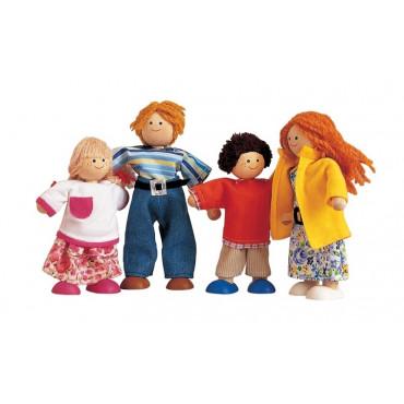 Famille de poupées modernes