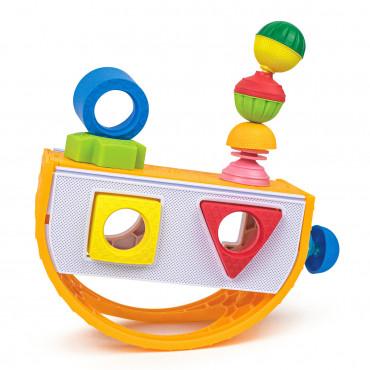 Lalaboom - Boîte à formes avec perles éducatives