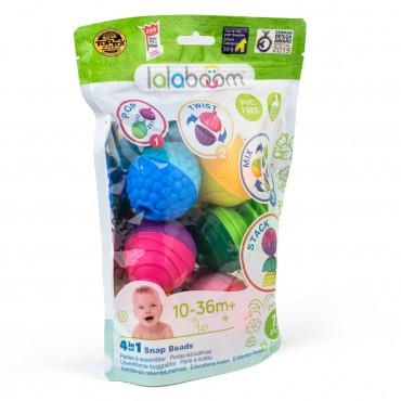 Lalaboom - 12 perles éducatives et accessoires
