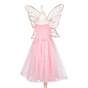 ROBE ROSYANNE ROSE AVEC AILES 3-4 ANS
