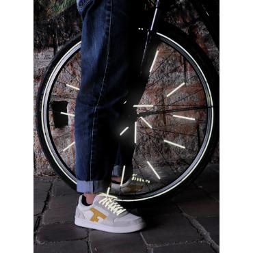 Réflecteurs pour roues de vélo multicolores - Rainette