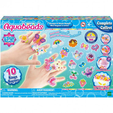 AQUABEADS MES BAGUES A CREER