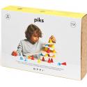 Piks 24 pièces jeu de construction - Oppi