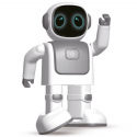 Robot Robert, enceinte dansante - Kidywolf