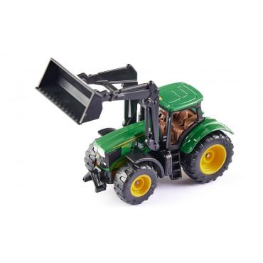 Tracteur John Deere avec chargeur frontal - SIKU