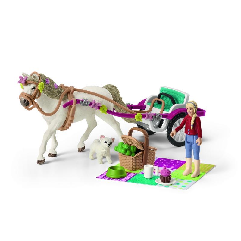 Schleich Caleche Pour Le Spectacle Equestre Schleich 1659 Oliwood Toys 7 Magasins De Jeux Jouets