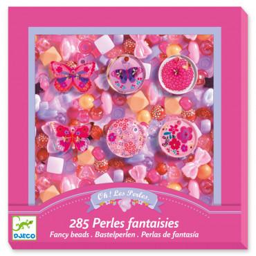 Foison de perles fantaisie papillons - Djeco