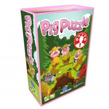Pig Puzzle - Blue Orange